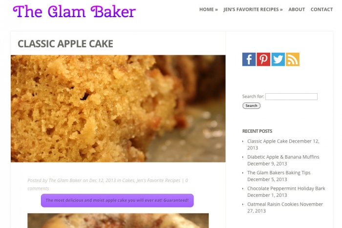 The Glam Baker